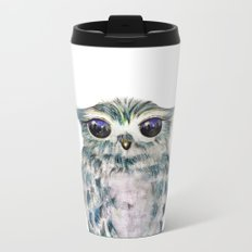 Little Owl Metal Travel Mug