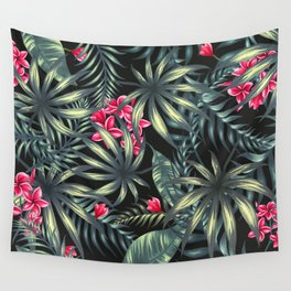 Tropical leave pattern 9.2 Wall Tapestry