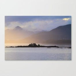 Juneau Alaska Inside Passage Pacific Coast Canvas Print