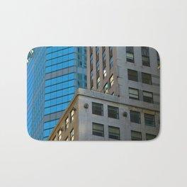 Manhattan Windows - Blue Bath Mat