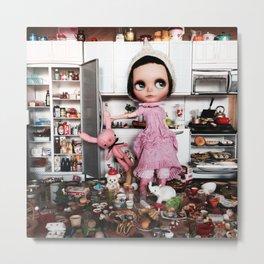 Mia Sparrow's Kitchen Metal Print