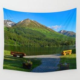 Summit Lake - Kenai Peninsula, Alaska Wall Tapestry