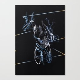 The Flash triptych ZOOM Canvas Print