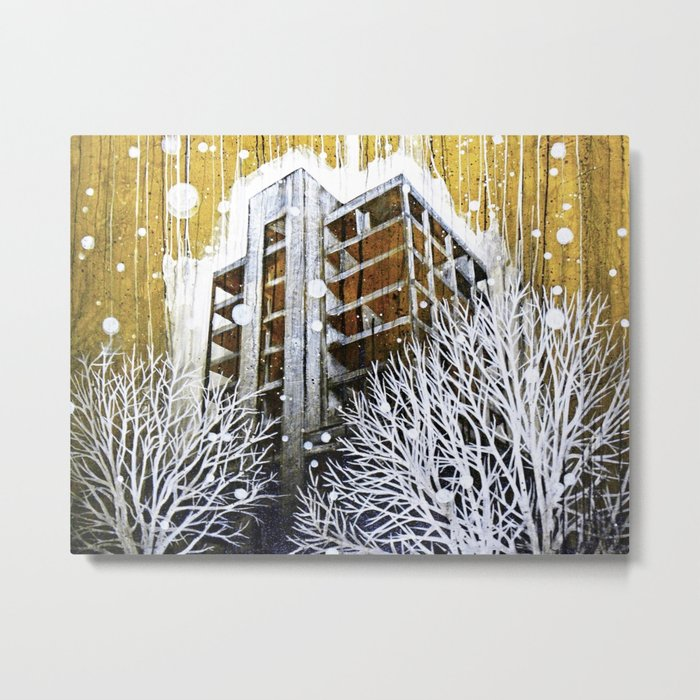 """""""The Fortress"""" Metal Print"""