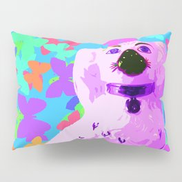 China Dog Green Vintage Pillow Sham
