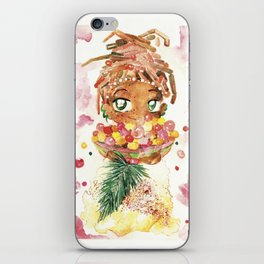 Nutmeg Berrysome - Food and Chibi iPhone Skin