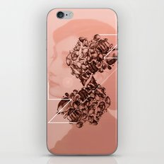 Old School Rocks! Audrey Hepburn Version iPhone & iPod Skin
