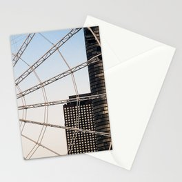 Ferris Wheel in Sunset Stationery Cards