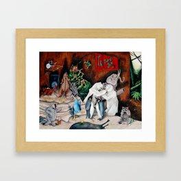 Jungle Jam Framed Art Print