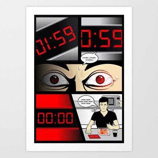 T-00:02:00 Art Print