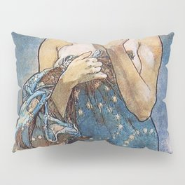 Alphonse Mucha Moonlight Art Nouveau Pillow Sham
