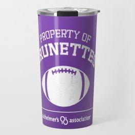 Property of Brunettes Travel Mug