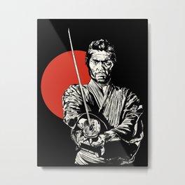 The Samurai Metal Print