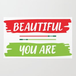Beautiful you are Rug