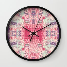 Death Blossom Wall Clock