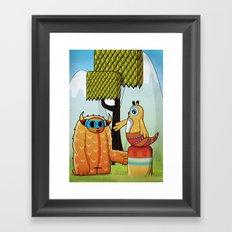 Narancita Framed Art Print