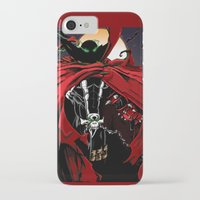 spawn iPhone & iPod Cases featuring Spawn by Shawn Norton Art