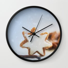 Cinnamon Stars Backery Wall Clock