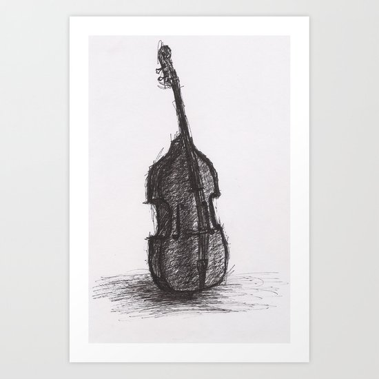Upright Art Print