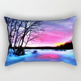 Sunlight Art Two Rectangular Pillow