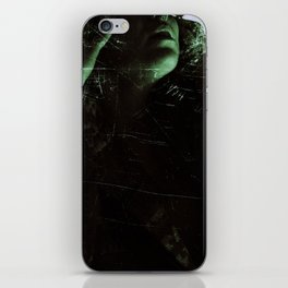 Suicide Witch in Critique I iPhone Skin