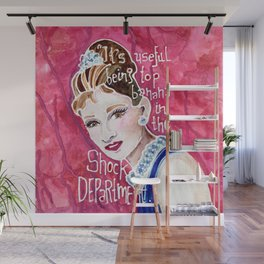 Holly Golightly Wall Mural
