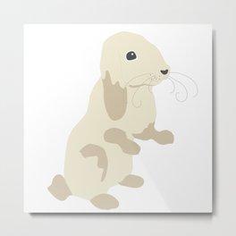 Lovely Bunny Metal Print