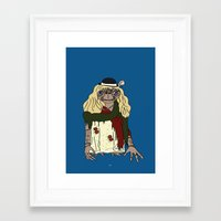 et Framed Art Prints featuring ET by V.L4B