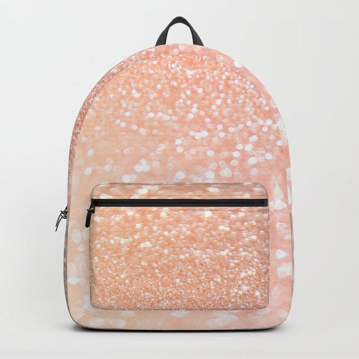Diamonds are girls best friends II - Pink glitter texure Backpack