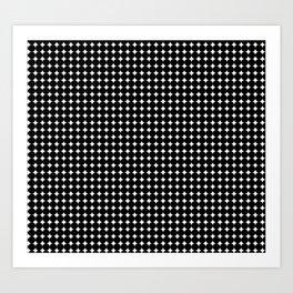 Black Circles Art Print