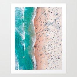 Bondi Beach, Australia #decor #buyart #society6 Art Print