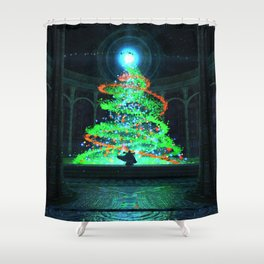 Pyre (Christmas) Shower Curtain