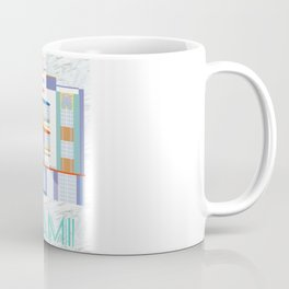 Miami Landmarks - The Berkeley Shore Coffee Mug