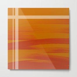 Sunset(Orange) Metal Print