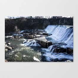 Upstate New York Waterfall Canvas Print