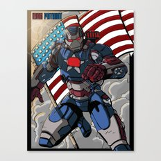 Iron Patriot Canvas Print