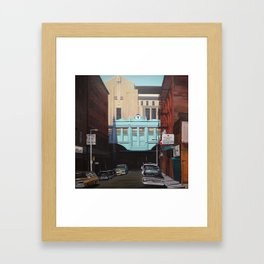 North Station Framed Art Print