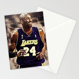 K.B King of  Basketball Art Print02 Stationery Cards