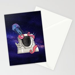 SPACE CADET Stationery Cards