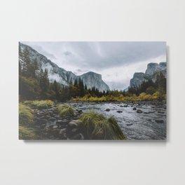 Yosemite Wonder Metal Print