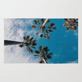 Palm Tree Sky Rug