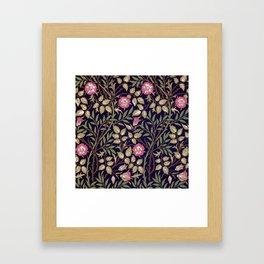William Morris Sweet Briar Floral Art Nouveau Framed Art Print