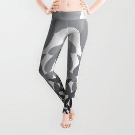 Spirit Lotus charcoal Leggings