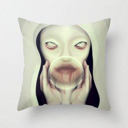 Pestilence Throw Pillow