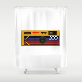 Disposable Photography Shower Curtain