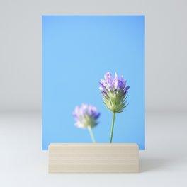 Lilac wildflower Mini Art Print