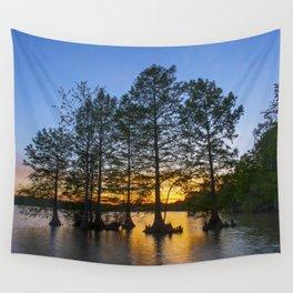 Sunset at Stumpy Lake Wall Tapestry