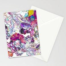 Line Flower Stationery Cards