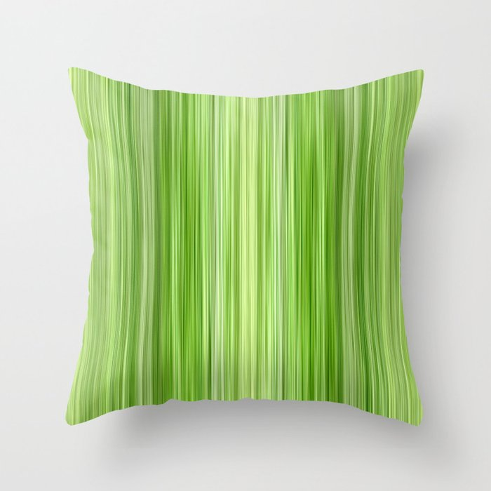 Ambient 3 in Key Lime Green Throw Pillow by brucestanfield