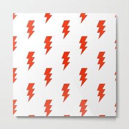 BOLT ((cherry red)) Metal Print